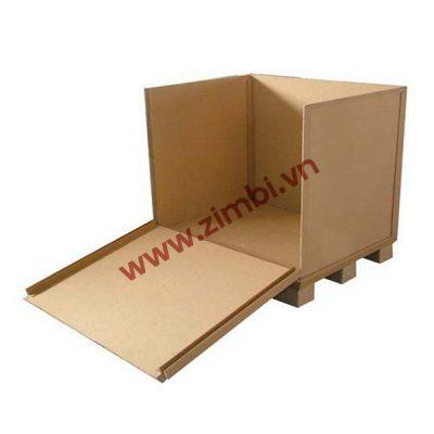 Sản xuất thùng giấy tổ ong
