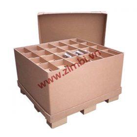 Sản xuất thùng Carton đóng linh kiện