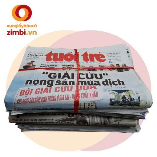 Giấy báo cũ Việt Nam